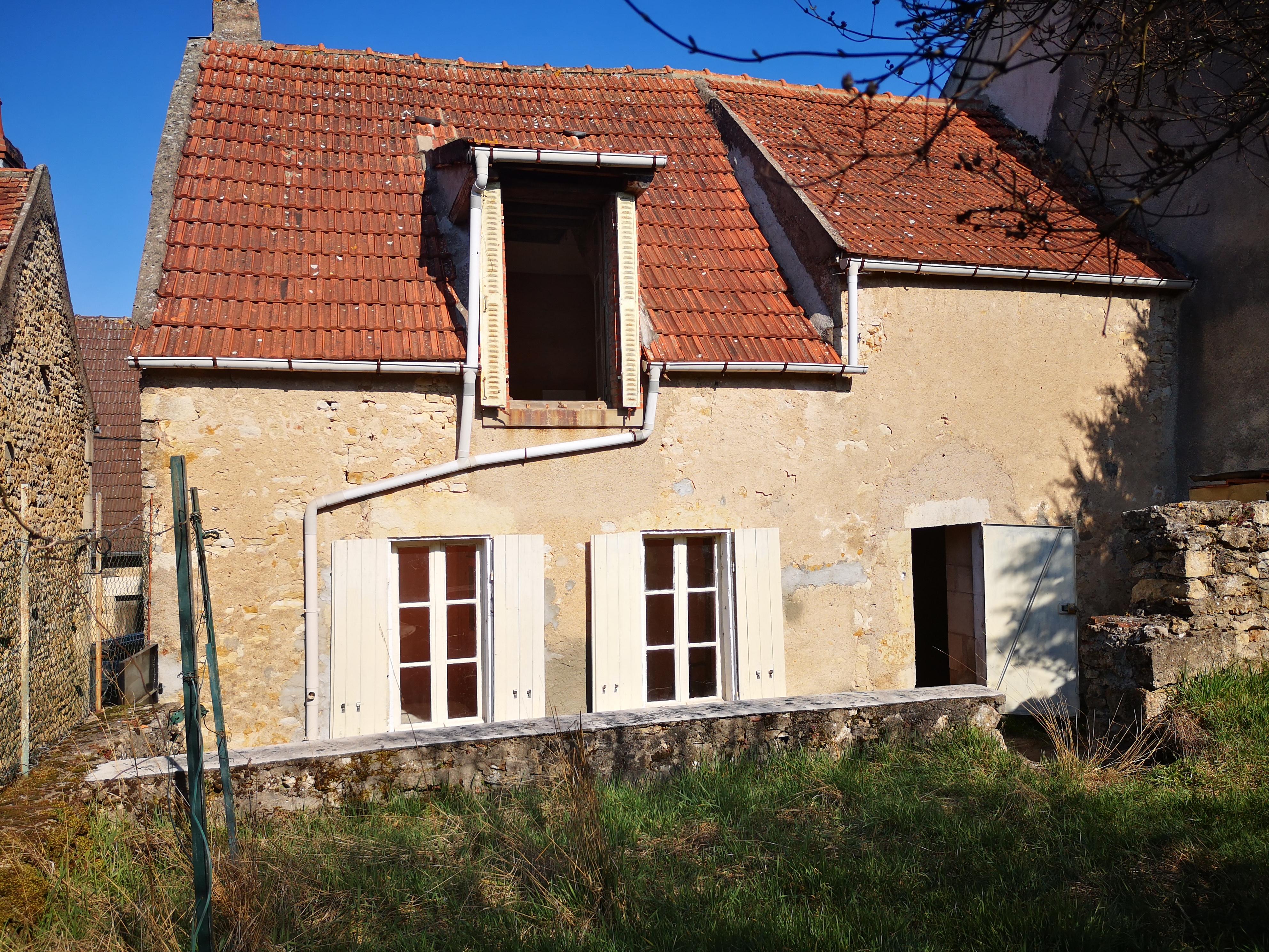 Maison à rénover de 28 m²